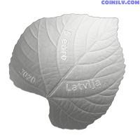 Latvia 5 Euro 2020 - Linden leaf