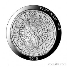 "Latvia 5 euro 2015 ""500 years of Livonian Ferding"""
