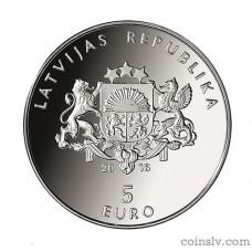 Latvia 5 euro 2018 - My Latvia