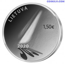 Lithuania 1.5 Euro 2020 - Coin of Hope
