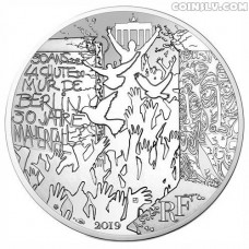 10 Euro France 2019 - The Fall of Berlin Wall