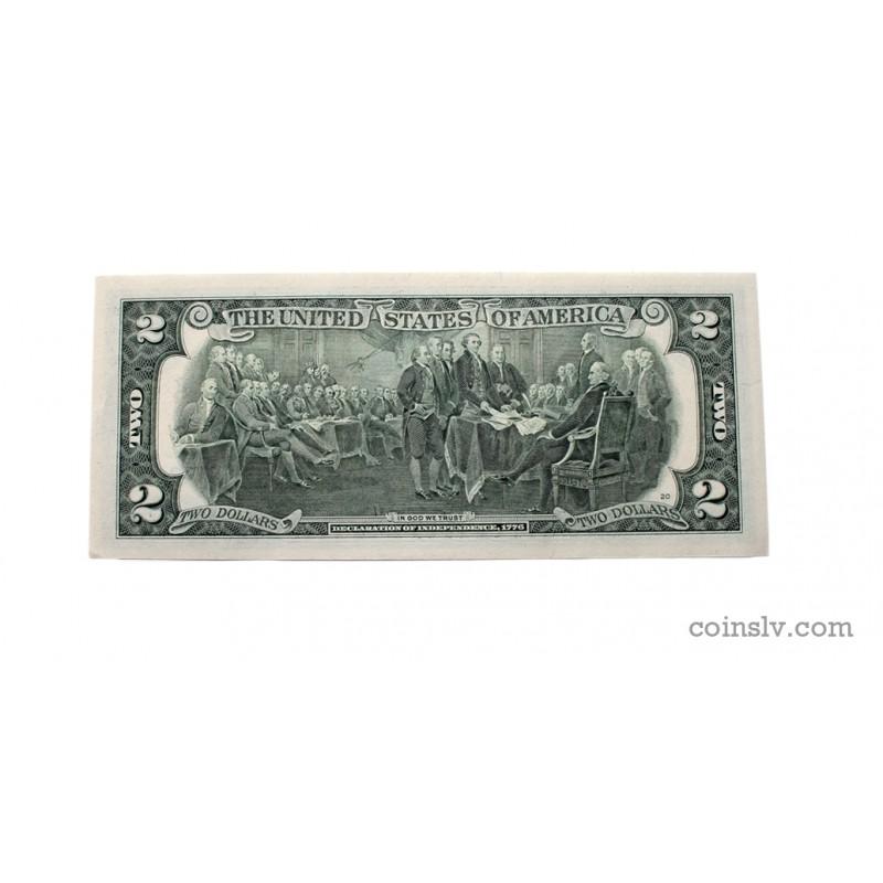 Деньги сша $2 долларов федерального резерва звезда примечание pmg флаг белорусская сср.