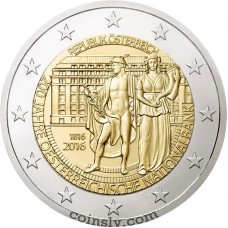 "2 Euro Austria 2016 ""200 years of Oesterreichische Nationalbank"""