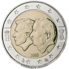 "2 euro Belgium 2005 ""Belgium-Luxembourg Economic Union"""