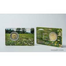 "2 euro coincard BU Latvia 2016 ""Latvian agricultural industry"""