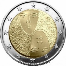 "2 euro Finland 2006 ""100th anniversary of the universal and equal suffrage"""