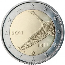 """2 euro Finland 2011 """"200th anniversary of the Bank of Finland"""""""