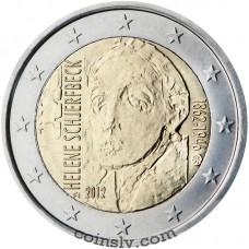 "2 euro Finland 2012 ""150th anniversary of the birth of the Helene Schjerfbeck"""