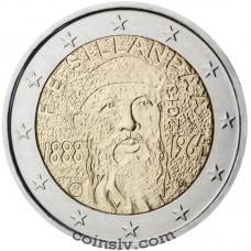 "2 Euro Finland 2013 ""Nobel laureate Frans Eemil Sillanpää"""