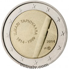 "2 Euro Finland 2014 ""The 100th Anniversary of the birth Ilmari Tapiovaara"""
