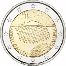 "2 Euro Finland 2015 ""The 150th anniversary of the birth of artist Akseli Gallen-Kallela"""