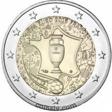 "2 Euro France 2016 ""UEFA European Championship"""