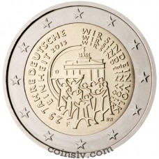 "2 Euro Germany 2015 ""25 years of German Unity"" (F)"