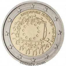 2 euro Germany 2015 - The 30th anniversary of the EU flag (A)