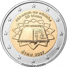 "2 euro Ireland 2007 ""50th anniversary of the signing of the Treaty of Rome"""