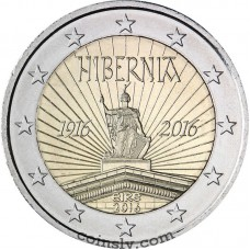 "2 Euro Ireland 2016 ""100 years since the 1916 Easter Rising in Ireland"""