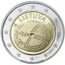 "2 Euro Lithuania 2016 ""The Baltic culture"""
