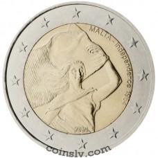 """2 Euro Malta 2014 """"Malta Independence 1964"""""""