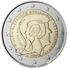 "2 Euro Netherlands 2013 ""200 years Kingdom of the Netherlands"""