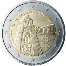 "2 Euro Portugal 2013 ""250th anniversary of ""Torre dos Clérigos"" in Oporto"""