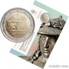 "2 Euro San Marino 2016 ""550th anniversary of the death of Donatello"""
