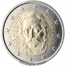 "2 euro Slovakia 2015 ""The 200th anniversary of the birth of Ľudovít"""