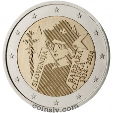"2 euro Slovenia 2014 ""The 600th anniversary of the crowning of Barbara Celjska"""