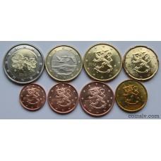 Finland euro set 2012 UNC (8 coins)