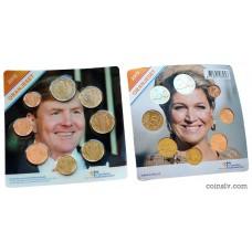 Netherlands euro set 2015 UNC (8 coins)