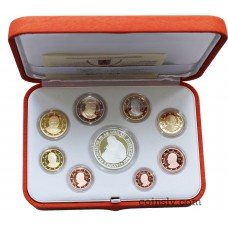 Vatican 2016 official PROOF euro set (9 coins)